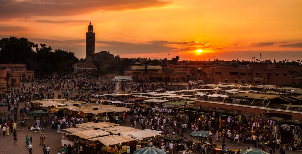 ¡Bienvenido a Marrakech!