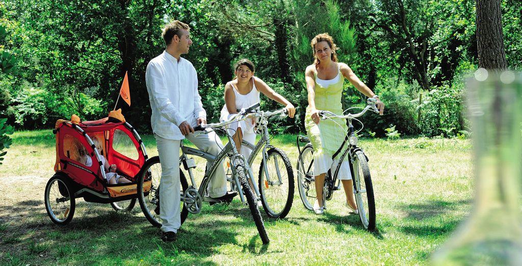 ... y actividades al aire libre para disfrutar con toda la familia
