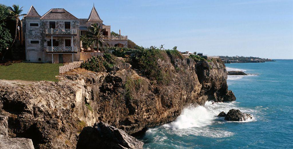 Un magnífico resort situado en un acantilado