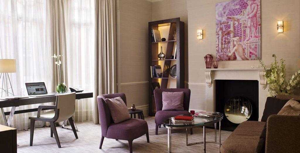 Para disfrutar de un lujo extra elige los apartamentos de una habitación, excepcionales en su diseño