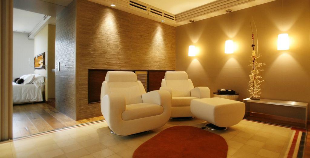 60 acogedores m² en los que disfrutarás de una agradable sala de estar