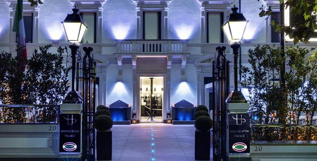 Bienvenido al Hotel Montecatini Palace