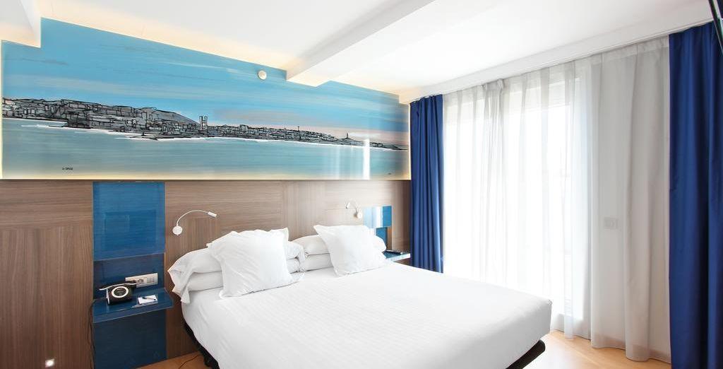 También puedes optar por una habitación Doble Uso Individual Fachada Trasera