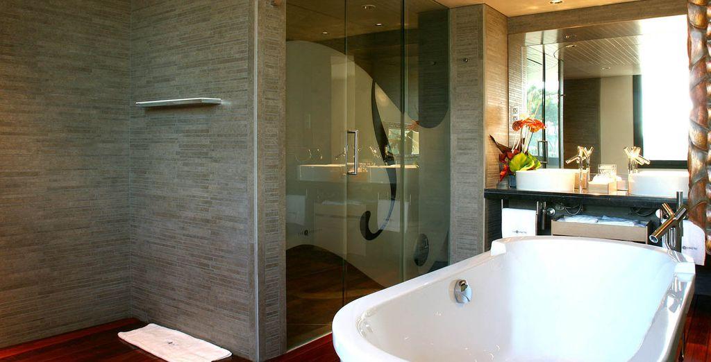Relájate en tu baño y disfruta de la calma