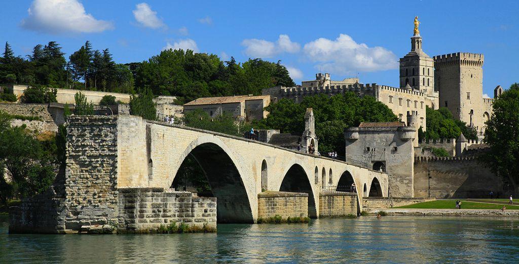 A sólo cinco minutos de Avignon