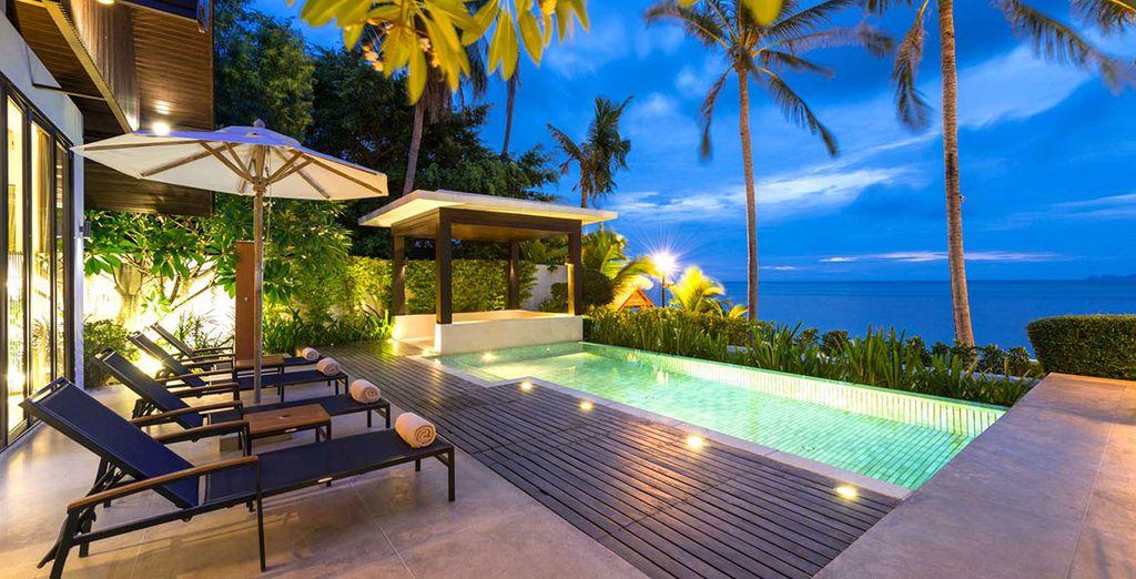 The Sea Koh Samui Boutique Resort & Residences 4* te da la bienvenida