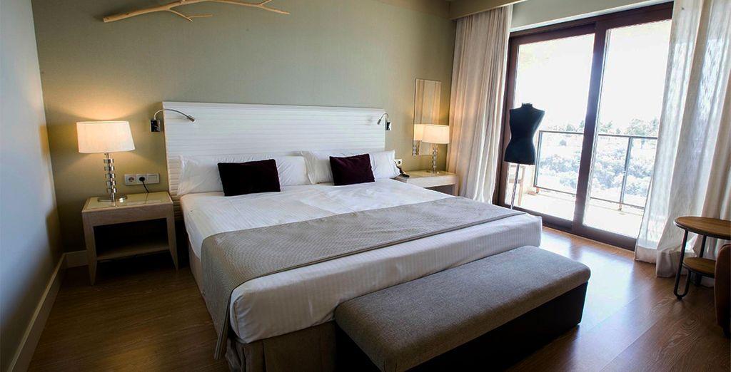 Te presentamos tu habitación Superior con terraza