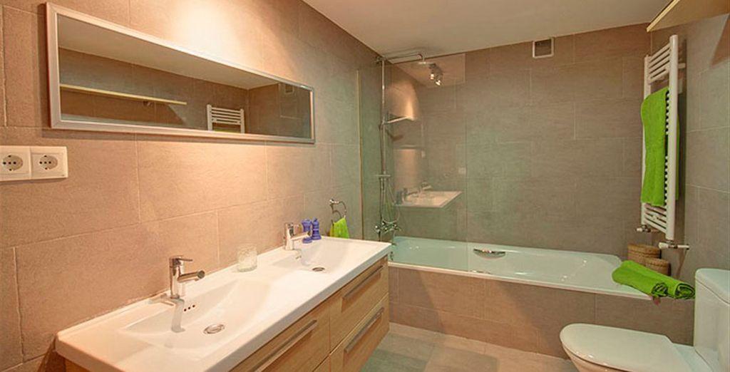 Apartamento 4: el baño