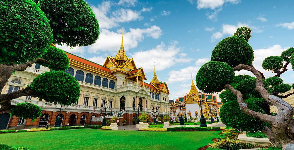 Visitará el majestuoso Gran Palacio Real