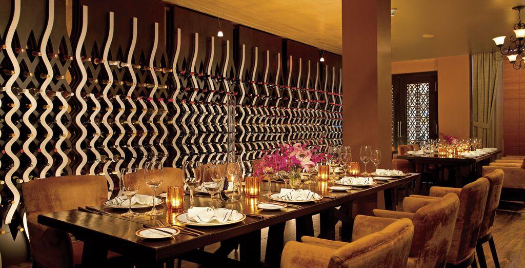 El Dreams Riviera alberga varios restaurantes