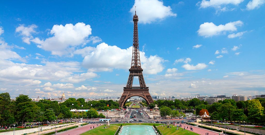 Vacaciones en París, viajes