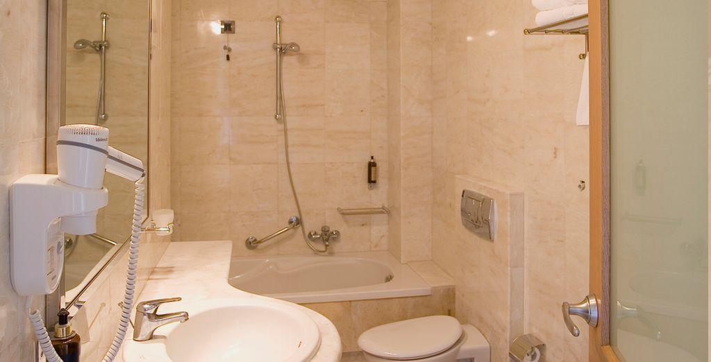 Baños amplios y completos