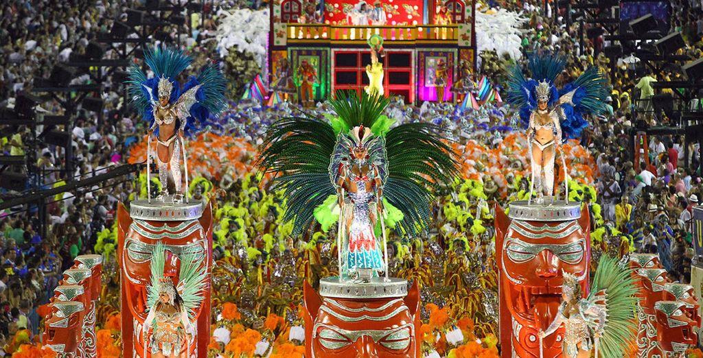 Viaje a Río de Janeiro para Carnaval