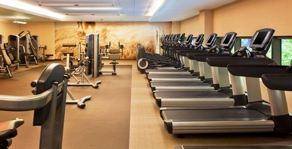 Renueve su salud en nuestro gimnasio WestinWORKOUT® Fitness Studio