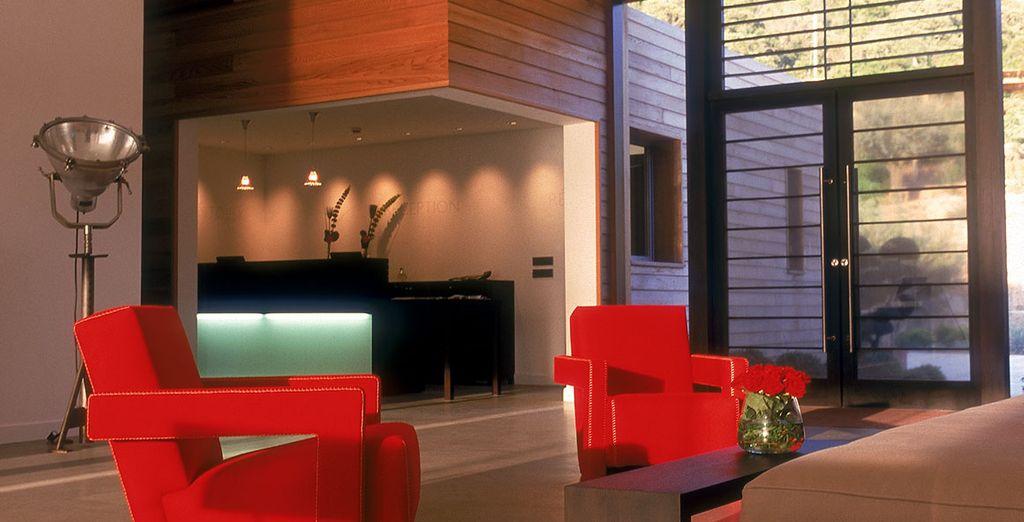 Interiores exquisitamente decorados