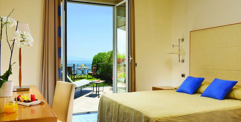 Tu habitación Superior con vistas al mar