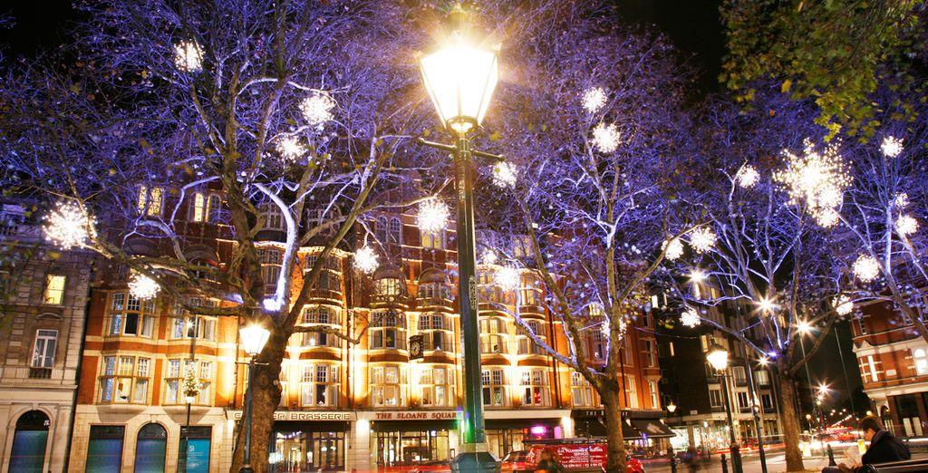 Venga a visitar la capital del Reino Unido por Navidades