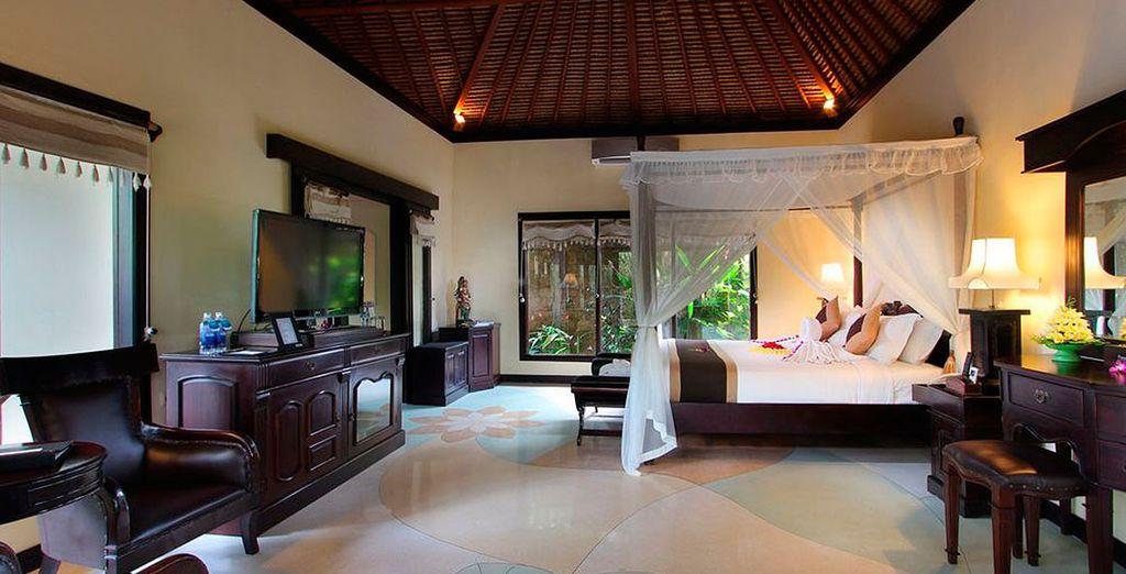 Un espacio cómodo, elegante y confortable le espera