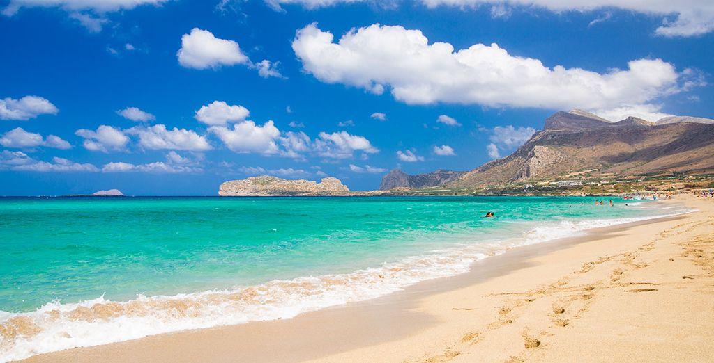 ... y las hermosas playas de la costa norte