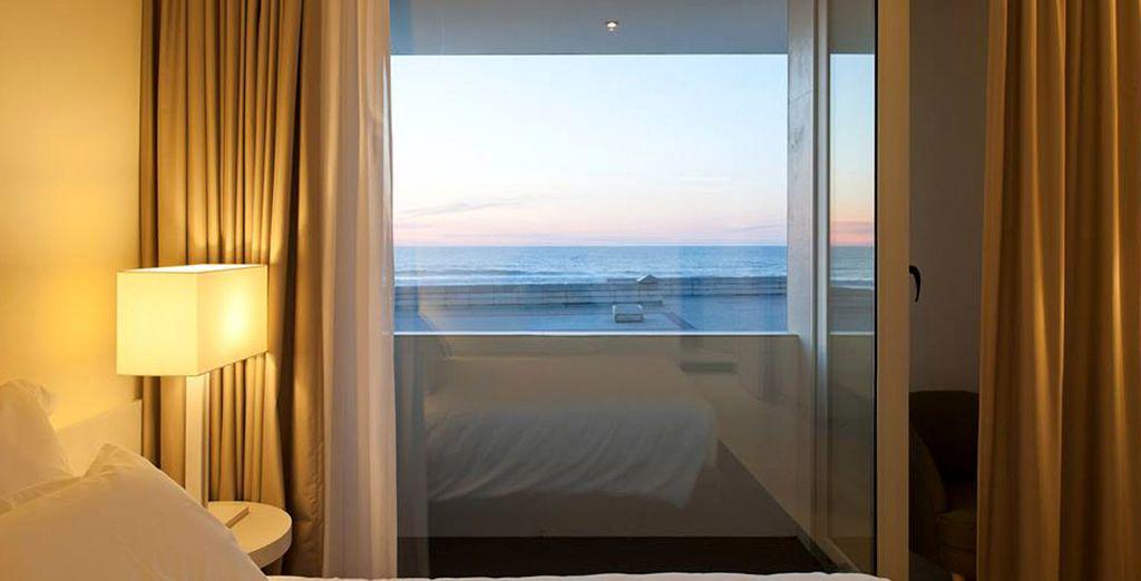 Deje que la brisa del mar inunde su habitación