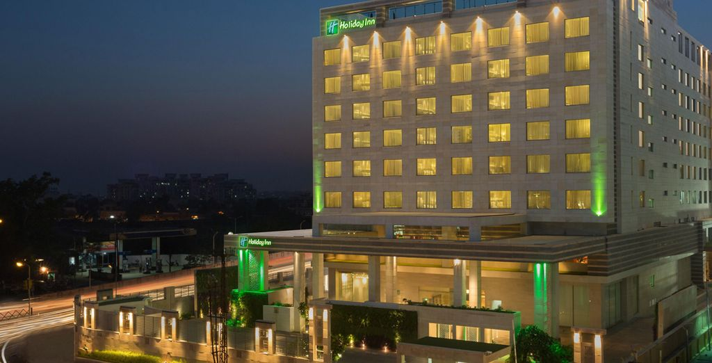 En Jaipur se alojará en el Holiday Inn City Center 5*