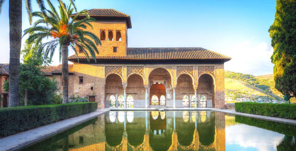 Escapadas de fn de semana en Granada - La Alhambra