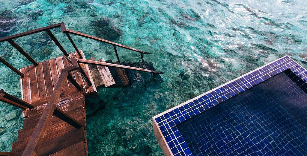 ... con piscina privada