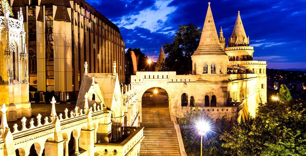 Situado cerca del Danubio y de la Isla Margarita, una ubicación inmejorable...