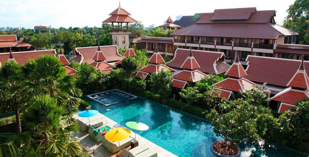 En Krabi te alojarás en el hotel Siripanna Villa Resort & Spa 5*