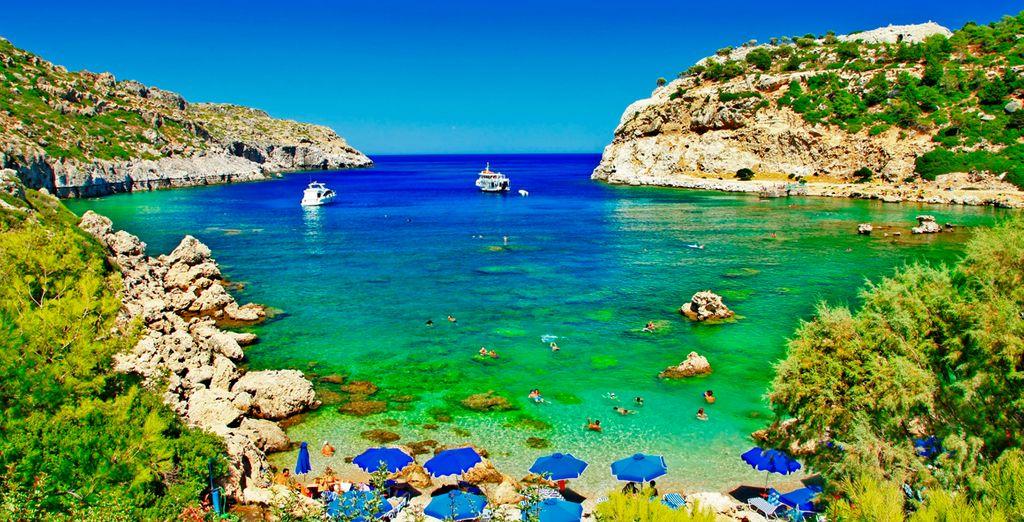 Rodas es una de las islas de vacaciones más populares en Grecia: ¡Venga a conocerla!
