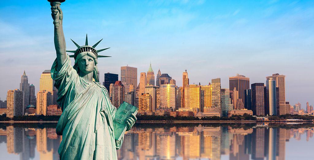 La Estatua de la Libertad es una visita boligatoria