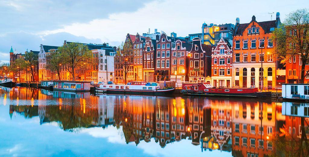¿Todo listo para una escapada a Ámsterdam?