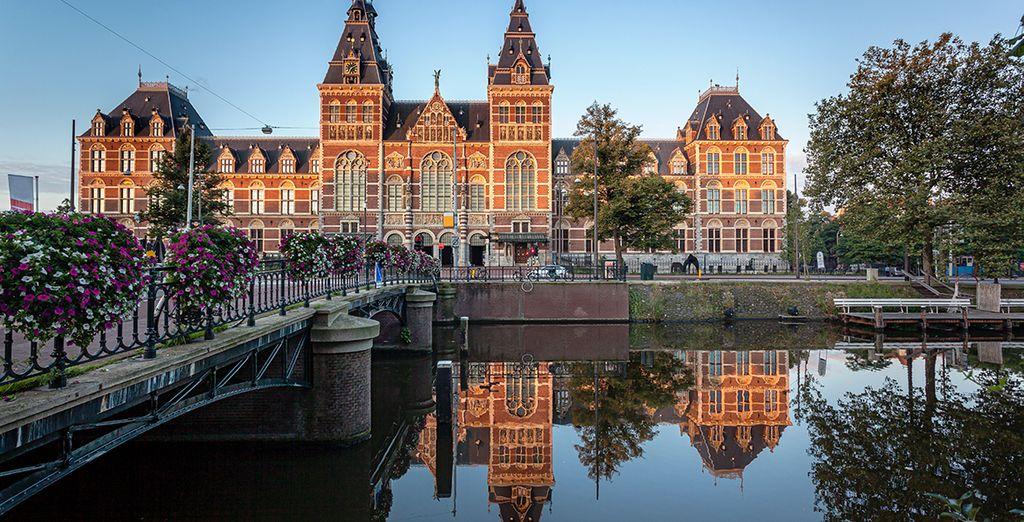 Aprovecha para contemplar las obras de Rijksmuseum