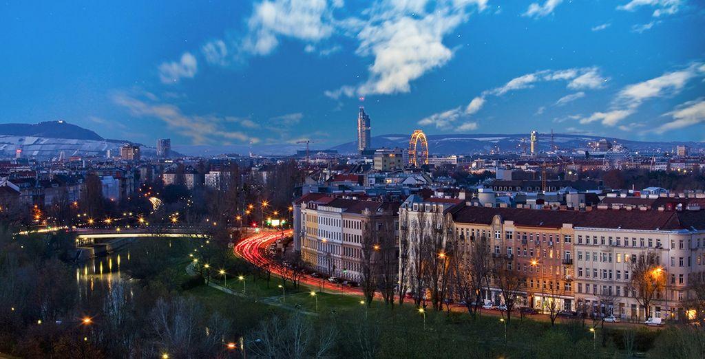 Viena es una ciudad cosmopolita a la par que clásica