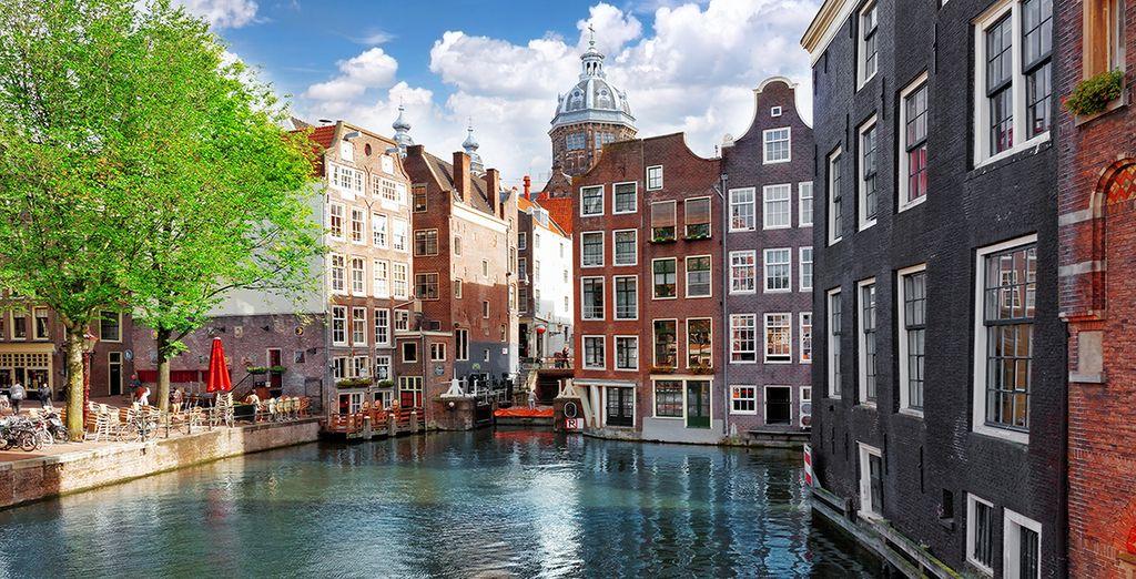 Descubre Ámsterdam alojándote en Bilderberg Garden Hotel 5*