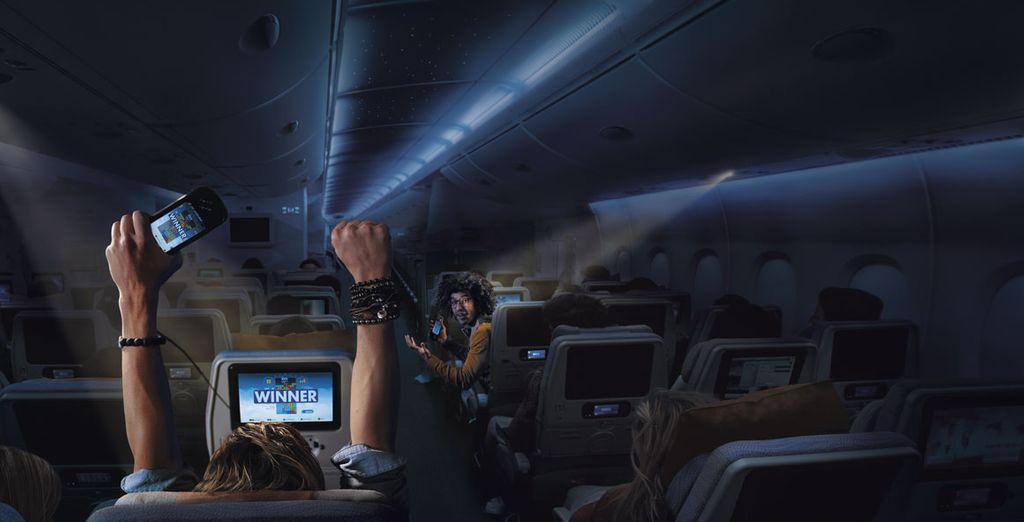 En ice Digital Widescreen, se ofrecen películas con servicios de audio y subtítulos