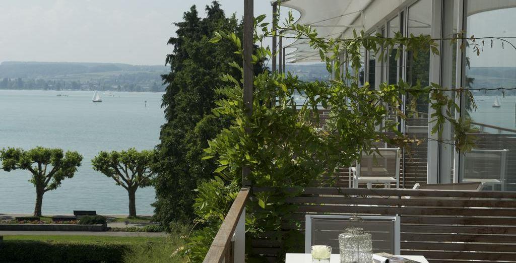 Disfruta de las bonitas vistas desde tu terraza
