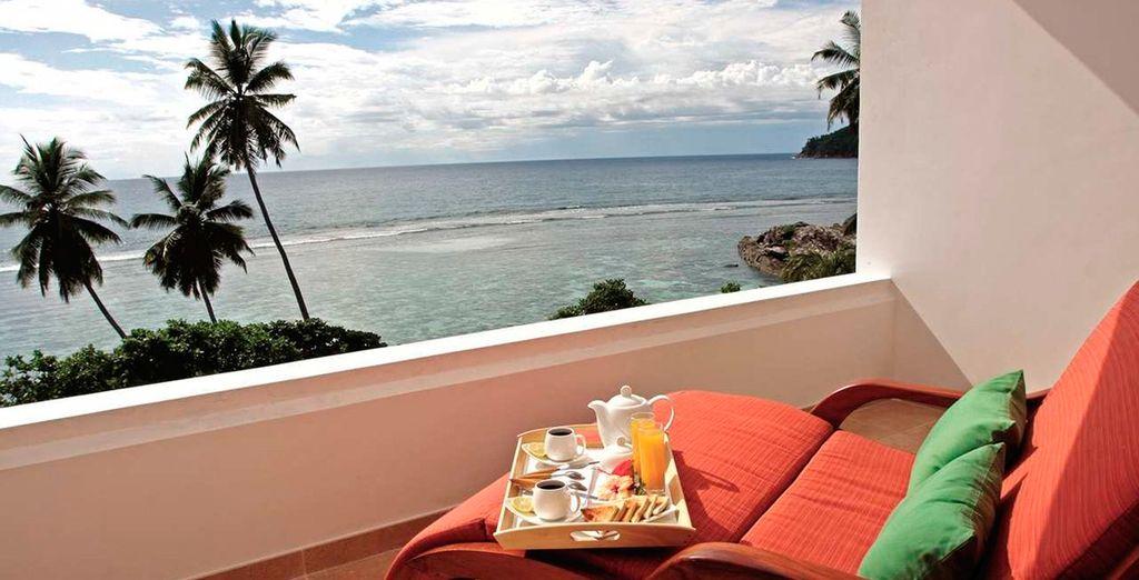 Relax frente al océano