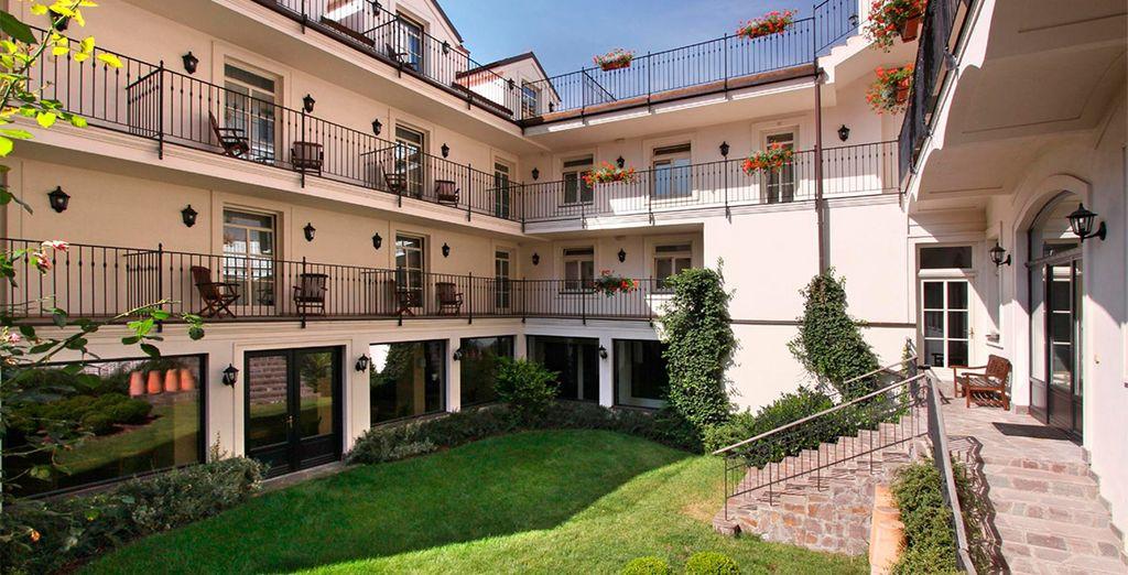 Hotel Angelis 4*, otra opción magnífica en Praga