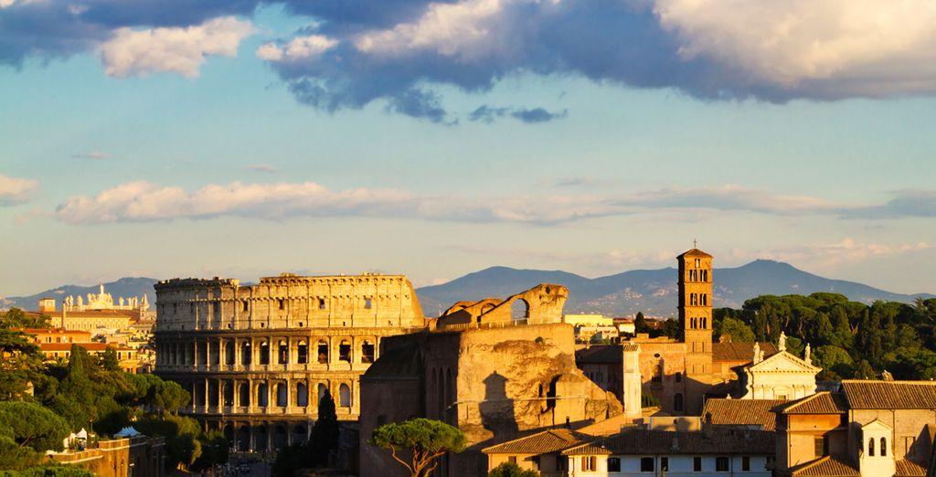 Coliseo, el lugar más emblemático de Roma