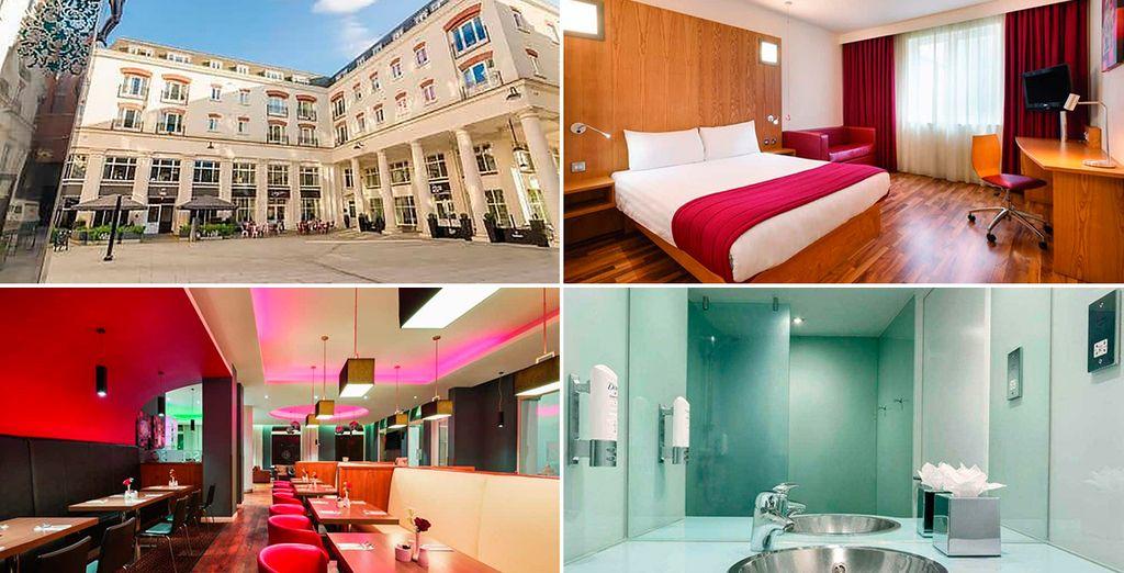 Ramada Encore 3*, uno de los hoteles previstos en Belfast