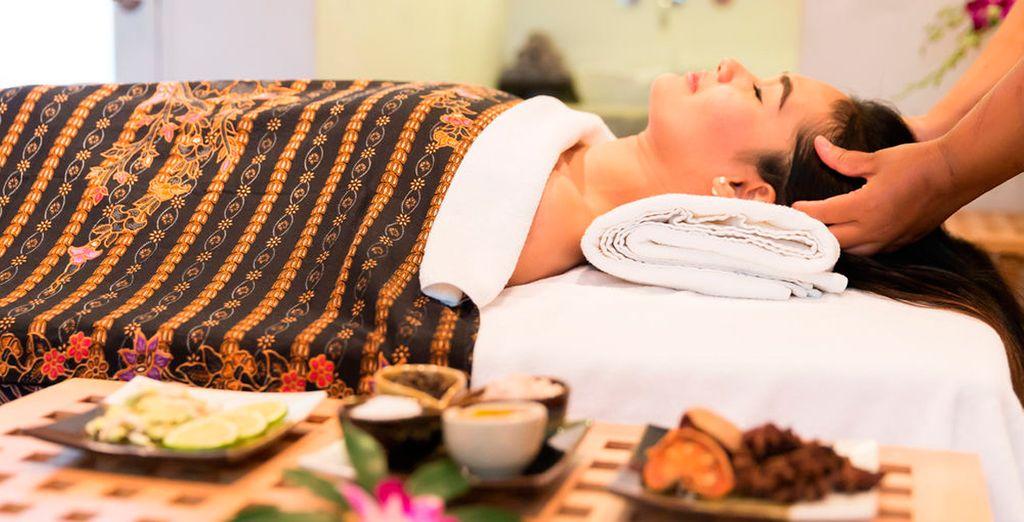 Prueba el auténtico masaje tailandés