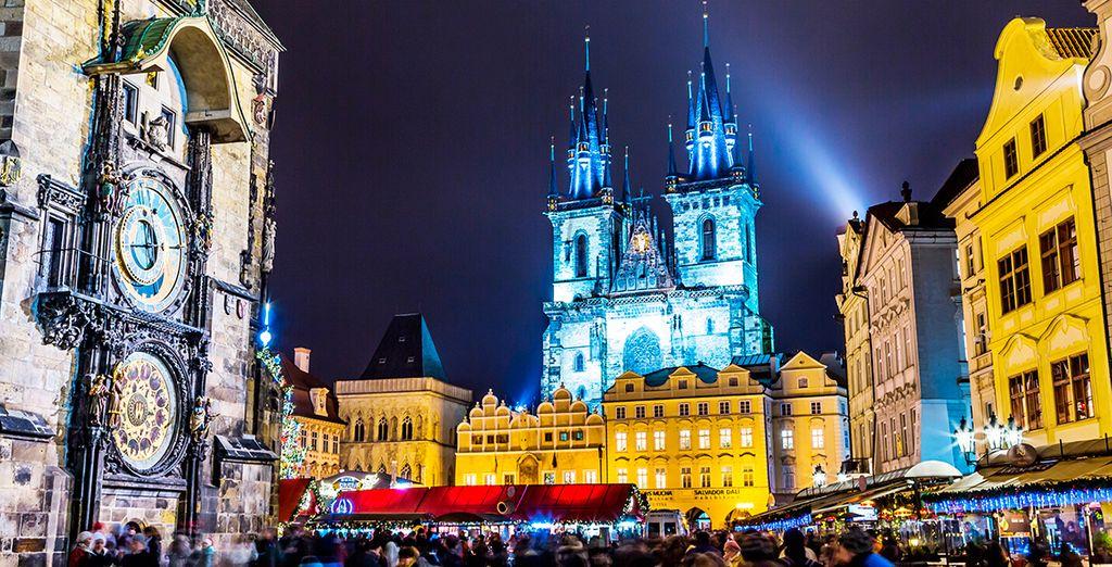 En Navidad la ciudad se inunda de luz y color