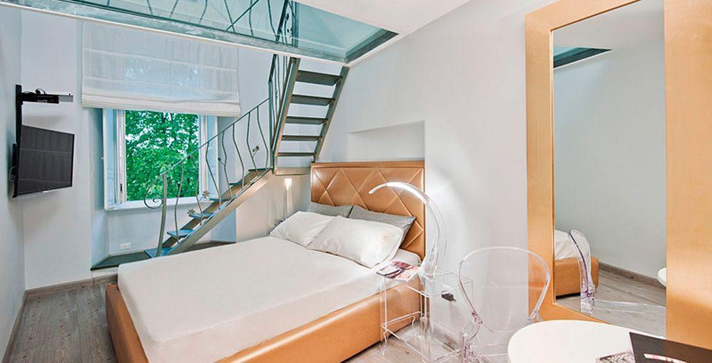 Disfrute de una mejora a Habitación Junior Suite/Apartamento Suite...