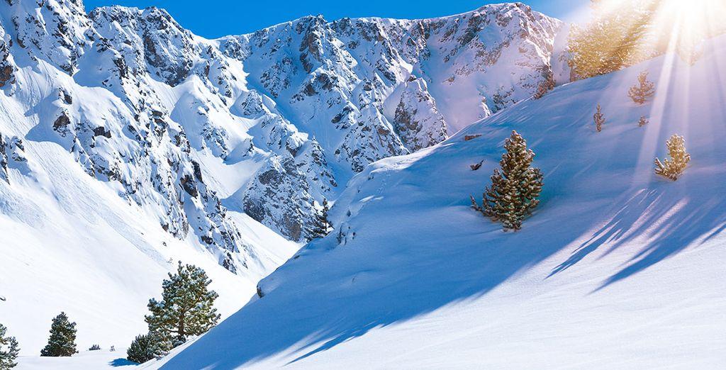 Disfruta de la nieve y el esquí
