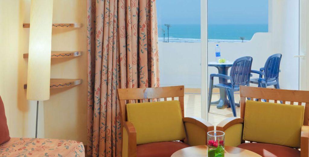 Sal a tu balcón para disfrutar de las vistas
