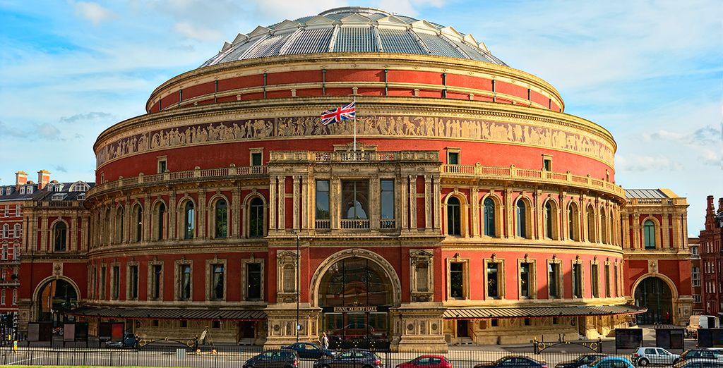 El majestuoso Albert Hall, uno de los teatros más importantes del mundo