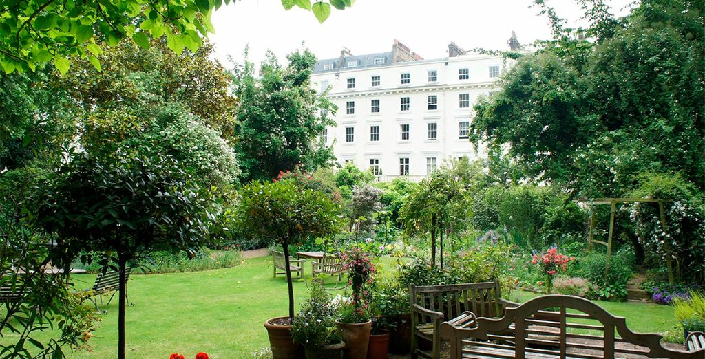 Sus espectaculares jardines han sido galardonados con varios premios