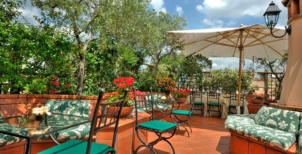 Hotel Diana Roof Garden 4*, Roma