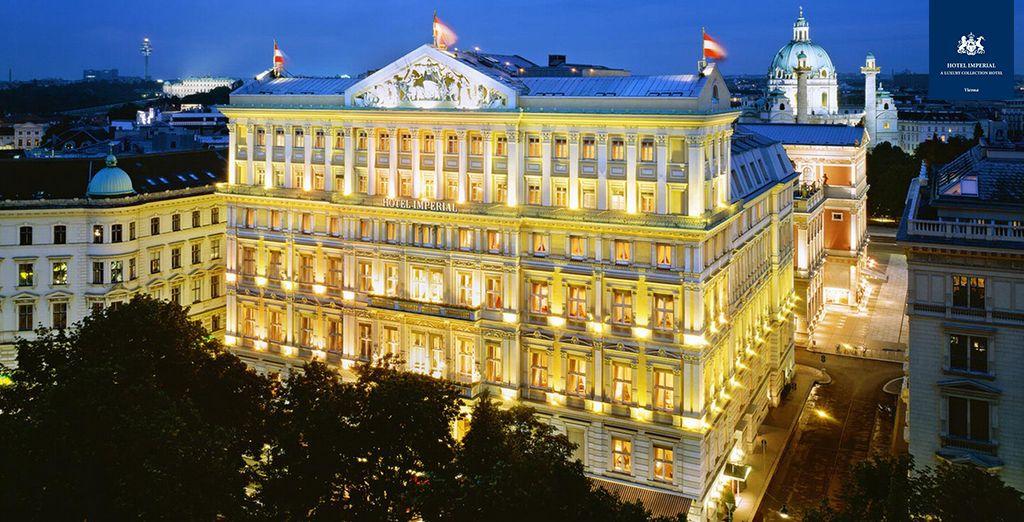 Hotel de lujo de 5 estrellas situado en el bulevar Ringstrasse